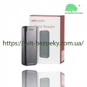 RFID считыватель Hikvision DS-K1802E