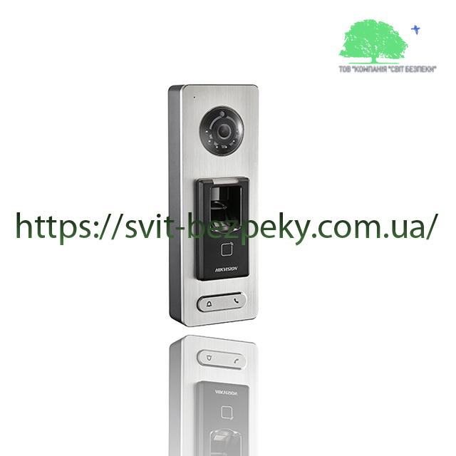 Биометрический терминал контроля доступа Hikvision DS-K1T501SF