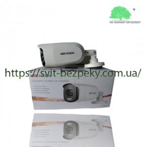 2Мп ColorVu HDTVI видеокамера Hikvision DS-2CE12DFT-PIRXOF 3.6мм