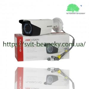 2Мп вариофокальная HDTVI видеокамера Hikvision DS-2CE16D0T-VFIR3F 2.8-12мм