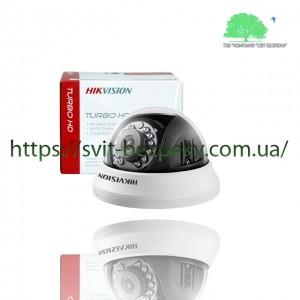 1Мп HDTVI видеокамера Hikvision DS-2CE56C0T-IRMMF 2.8мм