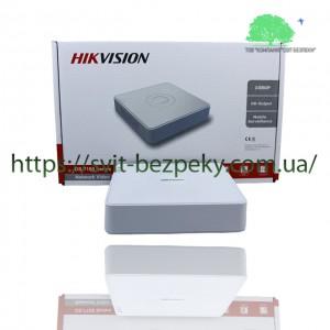 4-канальный IP видеорегистратор Hikvision DS-7104NI-Q1/4P