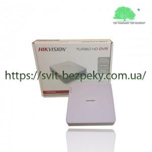 4-канальный HDTVI видеорегистратор Hikvision DS-7104HQHI-K1