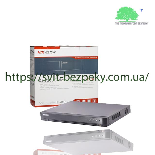 Hikvision DS-7204HQHI-K1/4audio оригинальный 4-канальный HDTVI видеорегистратор