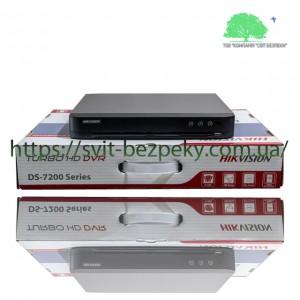 8-канальный HDTVI видеорегистратор Hikvision DS-7208HQHI-K2/P