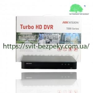 8-канальный ACUSENSE HDTVI видеорегистратор Hikvision  iDS-7208HUHI-M1/S