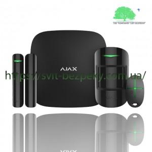 Стартовый набор охранной сигнализации Ajax StarterKit black