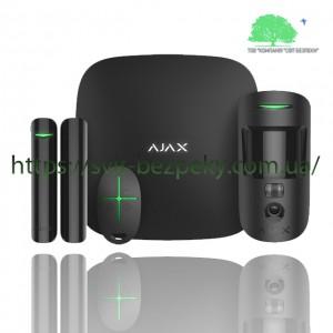 Стартовый набор охранной сигнализации Ajax StarterKit Cam black