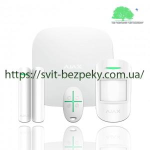 Стартовый набор охранной сигнализации Ajax StarterKit Plus white