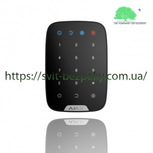 Сенсорная клавиатура Ajax Keypad black