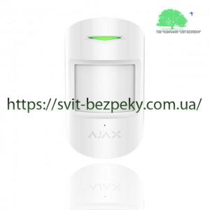 Комбинированный датчик Ajax CombiProtect white