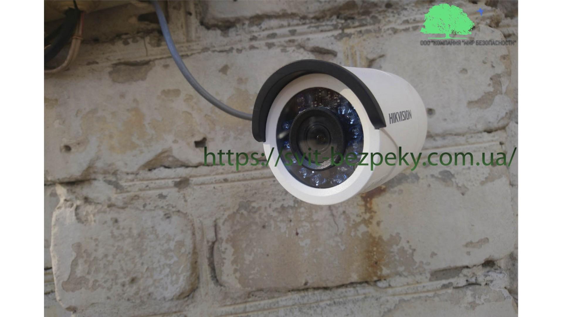 Монтажные работы системы видеонаблюдения
