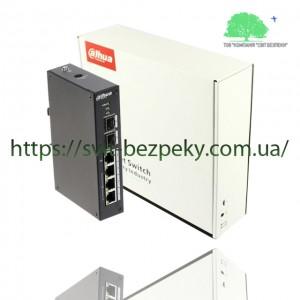4x портовый управляемый PoE коммутатор Dahua DH-PFS4206-4P-96