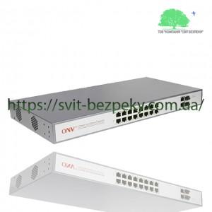 16x портовый PoE коммутатор ONV ONV-POE31016PFA