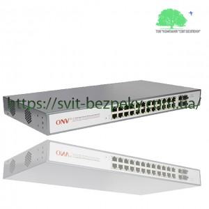 24x портовый управляемый L2 PoE коммутатор ONV ONV-POE31024PFM