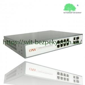 8x портовый PoE коммутатор ONV ONV-POE31108PFB