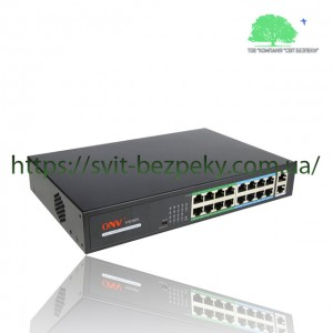 16x портовый PoE коммутатор ONV ONV-H1016PL