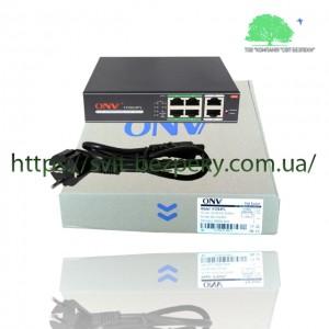 4x портовый PoE коммутатор ONV ONV-H1064PL