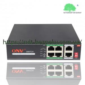 4x портовый PoE коммутатор ONV ONV-H1064PLD