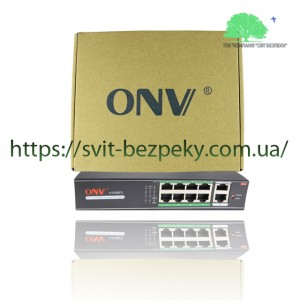 8x портовый PoE коммутатор ONV ONV-H1108PL