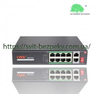 8x портовый PoE коммутатор ONV ONV-H1108PLD