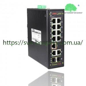 8x портовый PoE коммутатор ONV ONV-IPS33128PFM