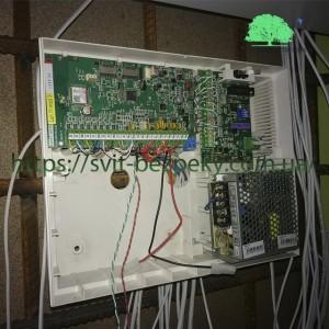 Монтажные работы системы охранной и тревожной сигнализации