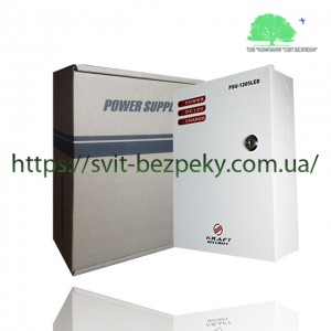 5А блок бесперебойного питания Kraft PSU-1205LED (B)
