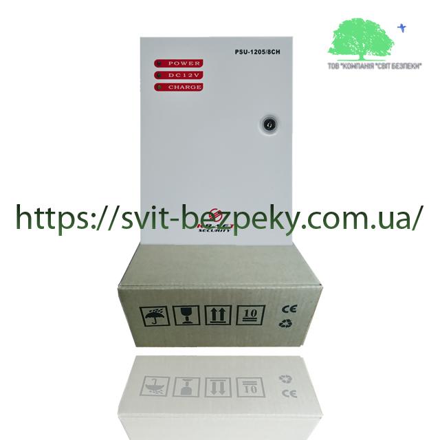 5А блок бесперебойного питания Kraft PSU-1205/8CH