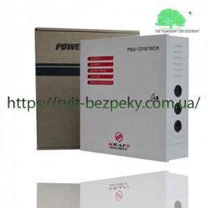 10А блок бесперебойного питания Kraft PSU-1210/16CH