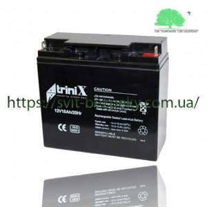 Аккумуляторная свинцово-кислотная батарея TriniX 12V 18Ah