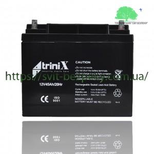Аккумуляторная свинцово-кислотная батарея TriniX 12V 45Ah