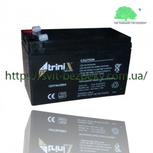 Аккумуляторная свинцово-кислотная батарея TriniX 12V 7Ah