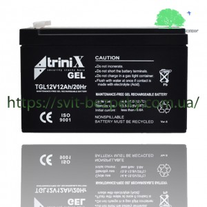 Аккумуляторная гелевая батарея TriniX Gel 12V 12Ah