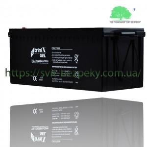 Аккумуляторная гелевая батарея TriniX Gel 12V 200Ah