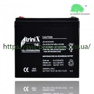 Аккумуляторная гелевая батарея TriniX Gel 12V 55Ah
