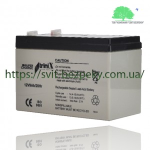 Аккумуляторная свинцово-кислотная батарея TriniX SuperCharge 12V 9Ah