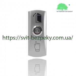 Накладная металлическая кнопка выхода TriniX ART-805LED