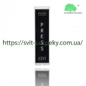 Сенсорная накладная пластиковая кнопка выхода TriniX ART-830P