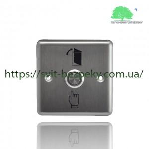Врезная металлическая кнопка выхода TriniX ART-804LED