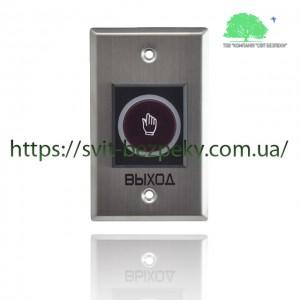 Сенсорная врезная металлическая кнопка выхода TriniX ART-810F