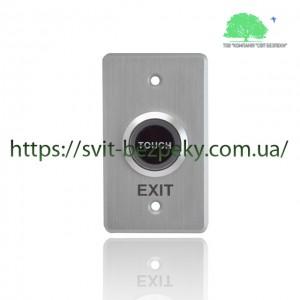 Сенсорная врезная металлическая кнопка выхода TriniX ART-850F